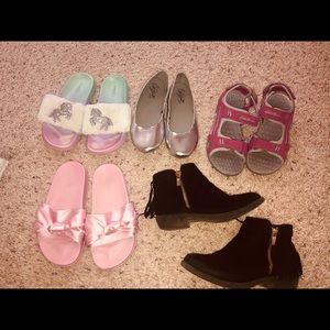 Lot of 5 girls shoes size 1